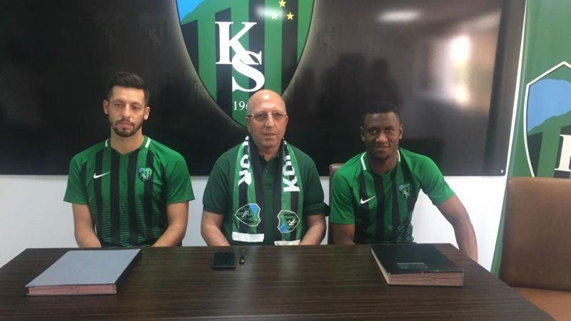 Kocaelispor'da imzalar atıldı