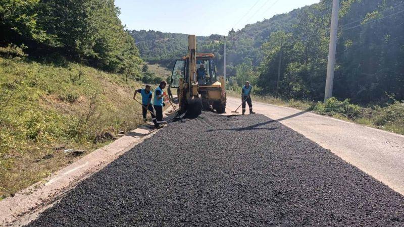 Belen ve Kalburcu'yu bağlayan yola asfalt