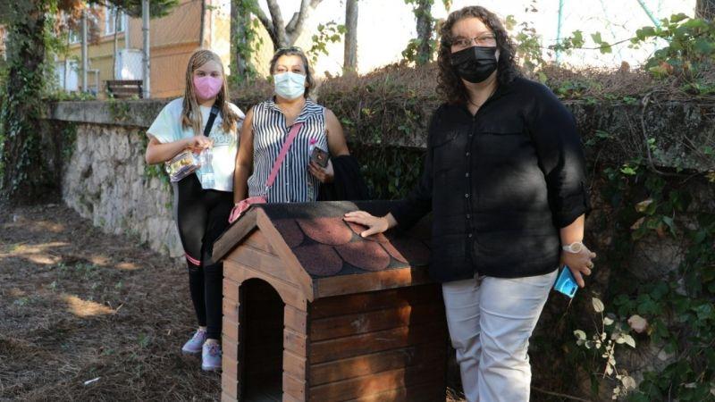 Çocukların hayvan sevgisine belediyeden kulübe desteği