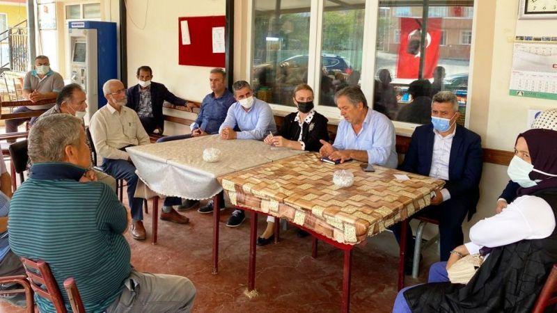 Emine Zeybek, Kandıra'da bir dizi ziyaret gerçekleştirdi