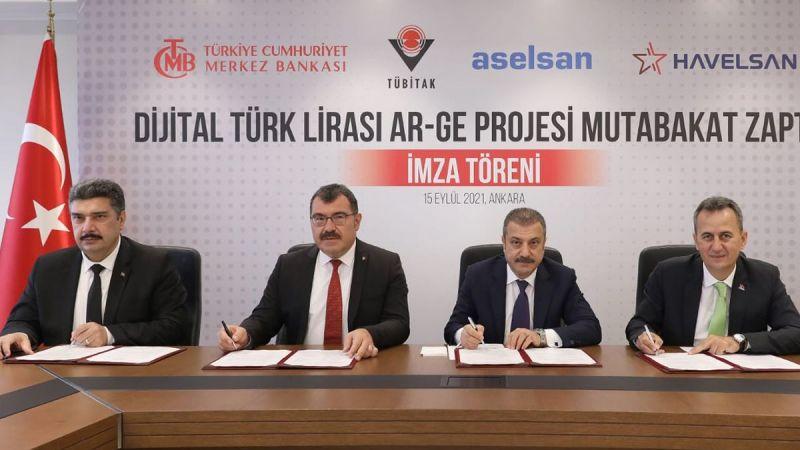 Dijital Türk Lirası için ilk adım atıldı
