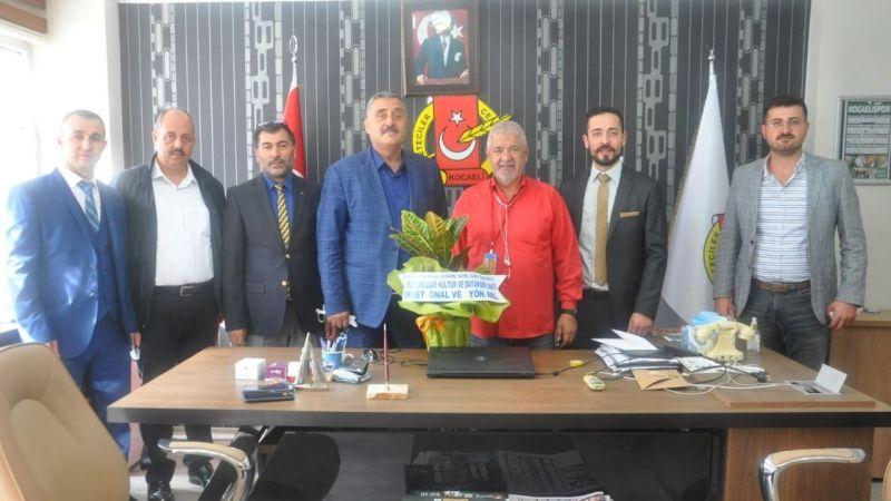 Erzurumlular Vakfı'ndan gazetecilere ziyaret