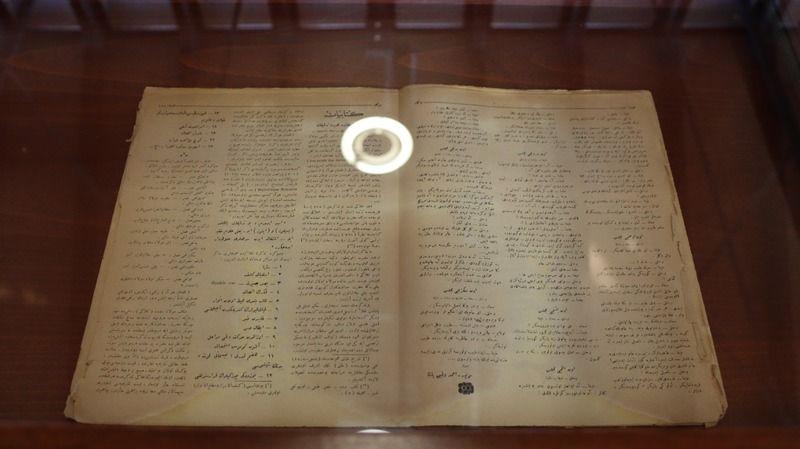 100 yıllık Dergah Mecmuası gelecek kuşaklara aktarıldı