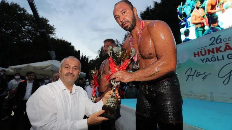 Hünkar Çayırı'nın şampiyonu Ali Gürbüz