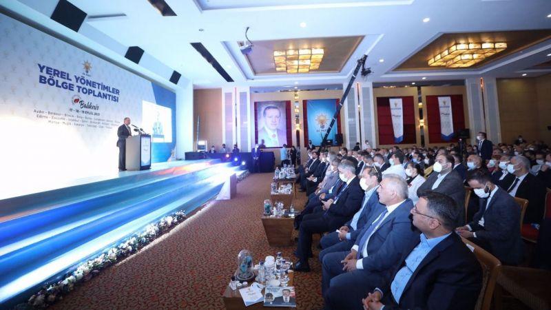 """AK Parti """"Yerel Yönetimler Bölge Toplantısı"""" tamamlandı"""