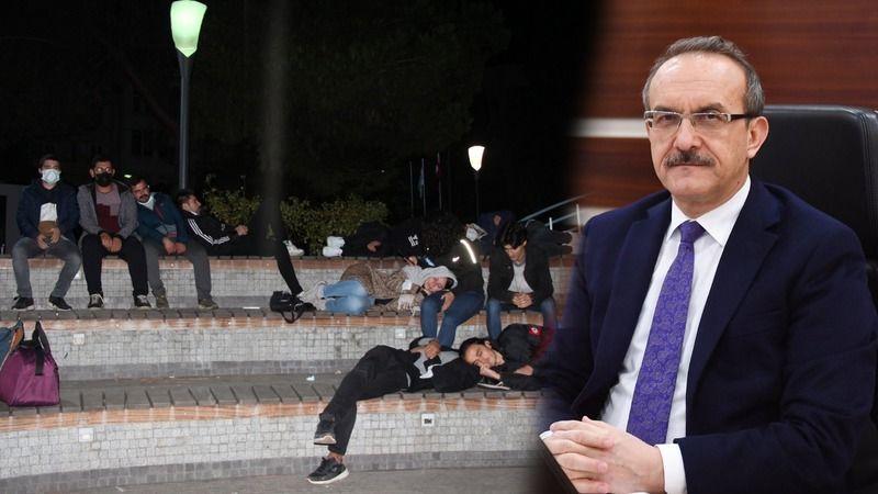 Vali Yavuz'dan barınamayan öğrencilerle ilgili açıklama