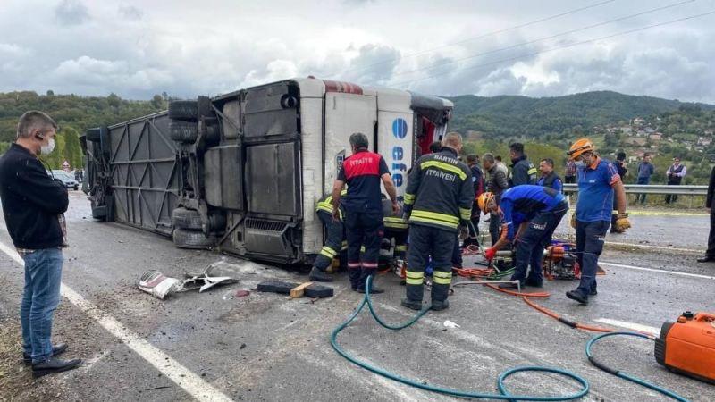 Efe Tur kaza yaptı: 3 ölü