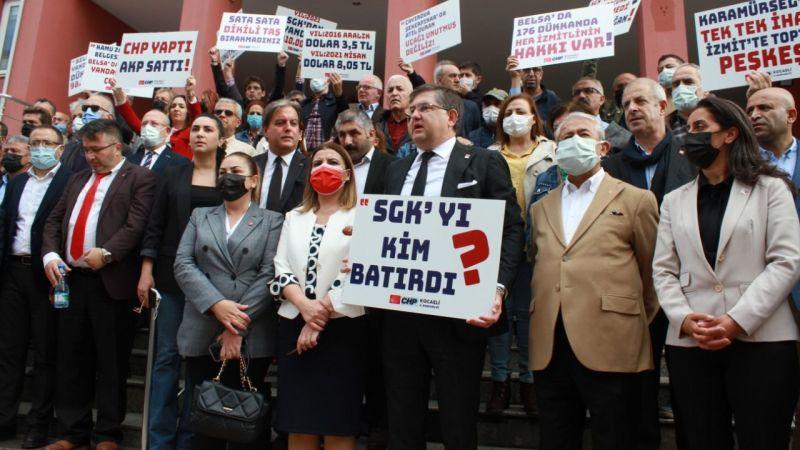 CHP'den SGK'ya suç duyurusu