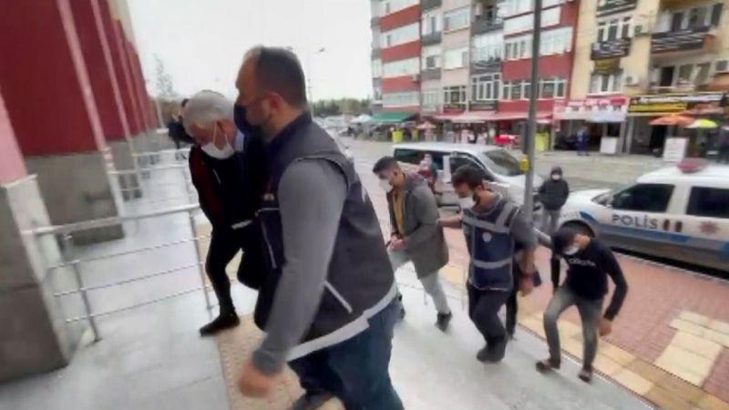 TIR dorsesindeki 107 kilo eroinle yakalanan 4 kişi tutuklandı
