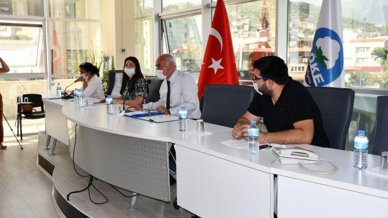 Söke belediye meclisi 3 ay sonra toplandı
