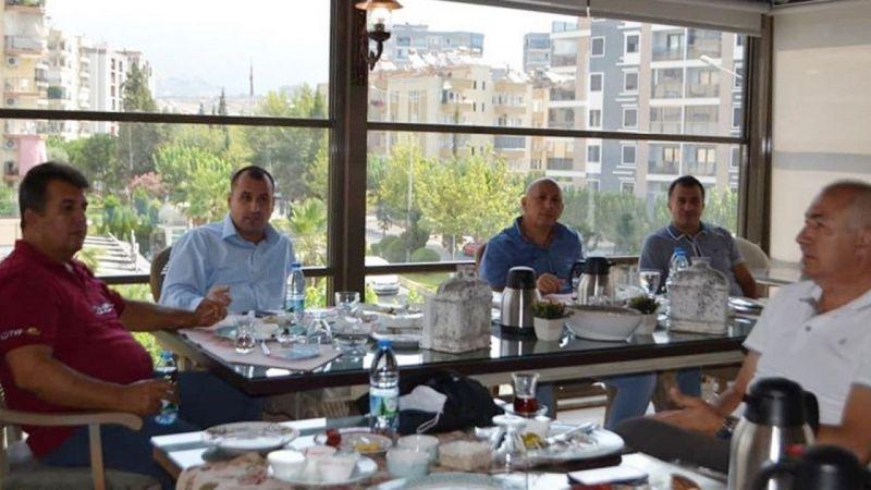 Aydın'da voleybol hakemleri bir araya geldi