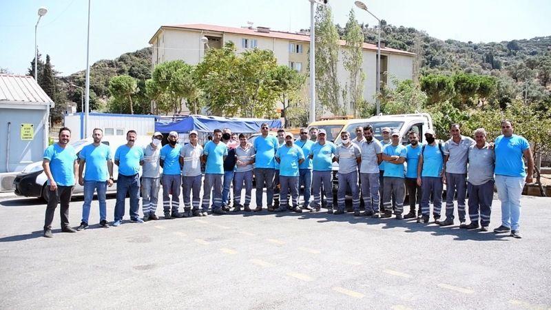 İşçilerinden Başkan Tuncel'e Teşekkür
