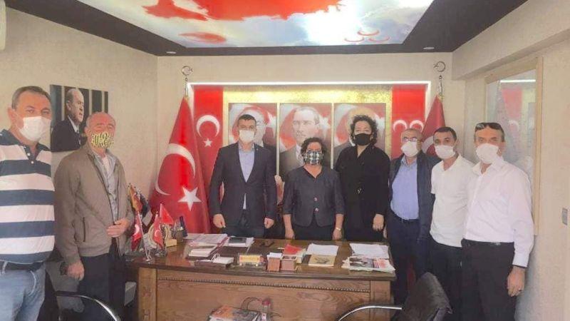 Dekandan MHP'ye ziyaret
