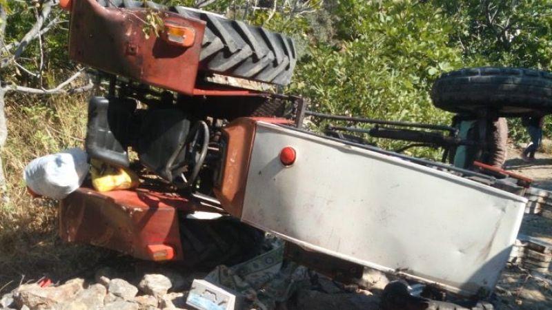 Söke'de traktör kazası: 1 ölü