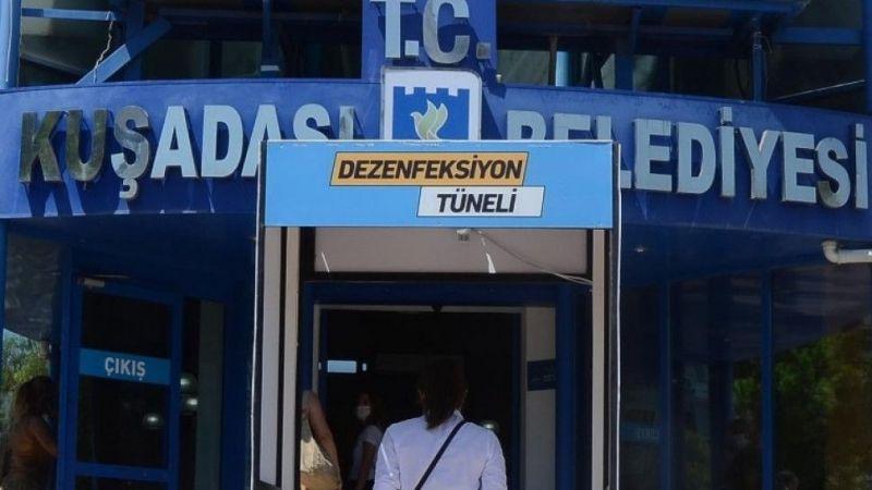 Kuşadası Belediyesi'nin 8 çalışanı karantinaya alındı