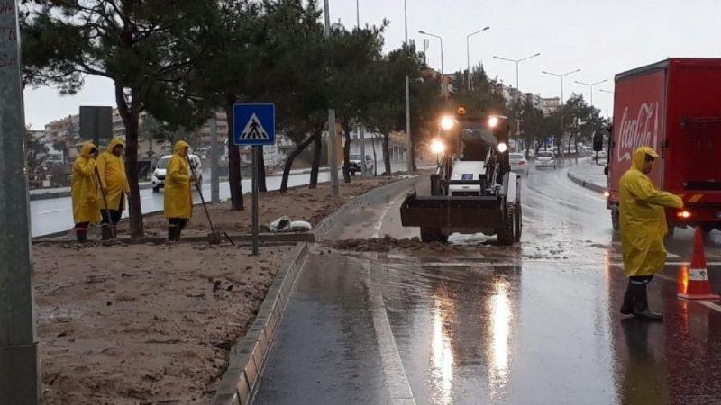 Kuşadası'nda metrekareye 80 kilogram yağmur düştü
