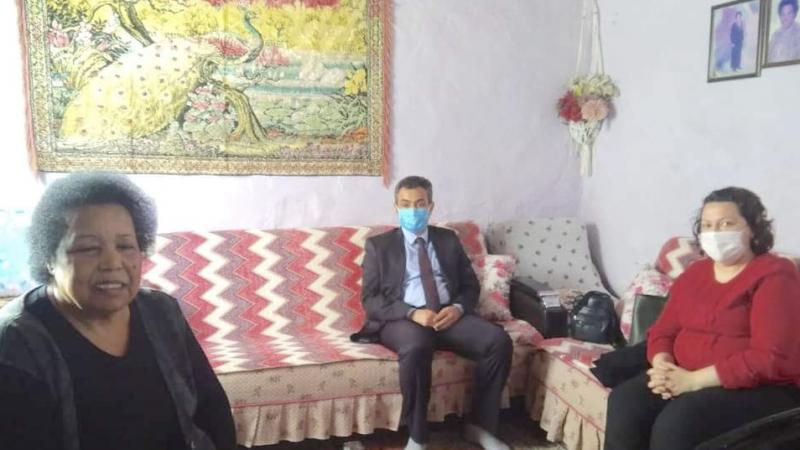 Kaymakam Soner Zeybek'in dar gelirli aile ziyaretleri devam ediyor