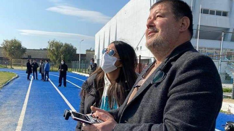 Söke'de üreticiler teknolojinin son harikası drone'leri kullanmaya başladı