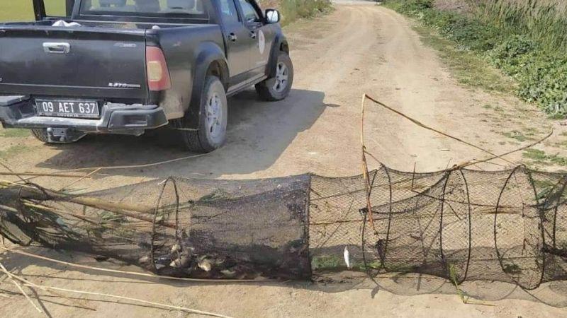 Menderes Nehri'nde denetim yapıldı
