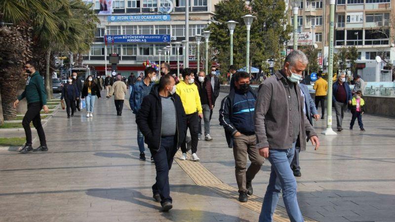 Aydın'da vaka artış hızında düşüş yaşandı