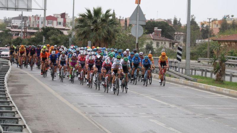 Söke'de bisikletçileri Efeler karşıladı