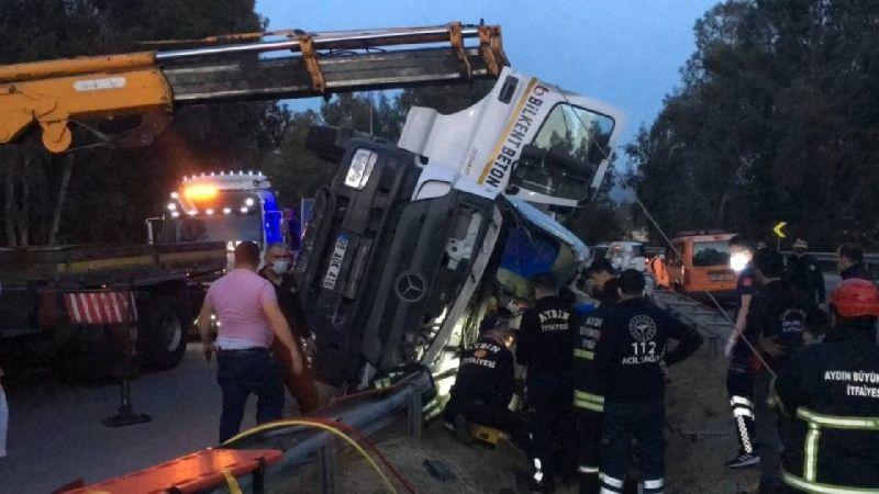 Aydın'da feci kaza: 1 ölü, 1 yaralı