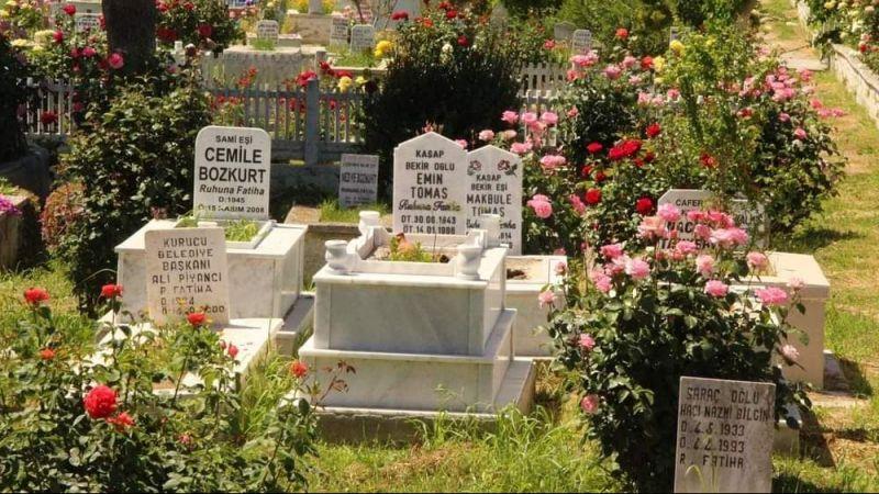 Mezarlıkların bakım ve temizliğinin ilaçsız yapılması istendi