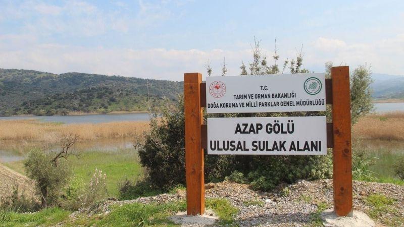 Kuraklık Azap Gölü'nü tehdit ediyor