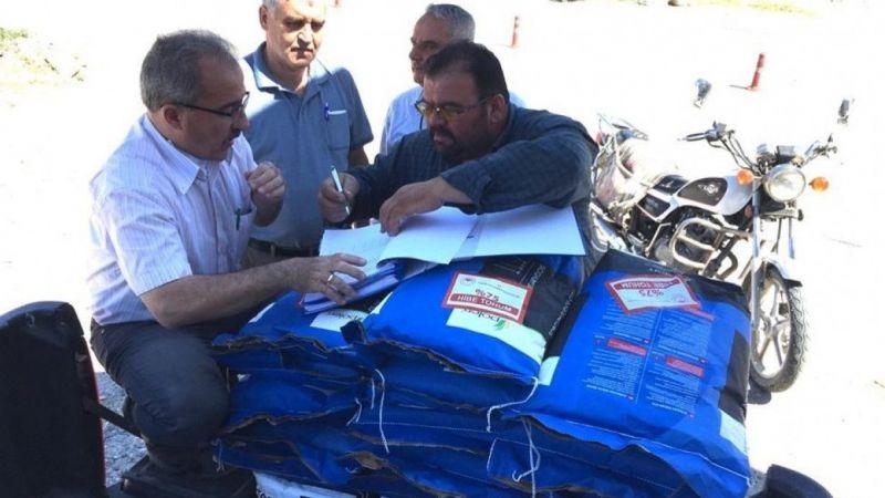 Aydın'da 6 ton sudan otu tohumu dağıtıldı