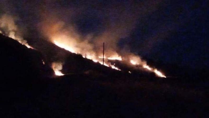 Söke'deki yangınlar korkuttu