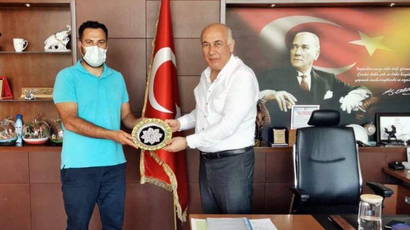 Başkan Tuncel'e ziyaret