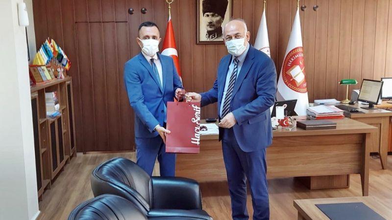 Başkan Tuncel, Cumhuriyet Başsavcısı ve Jandarma Komutanını ziyaret etti