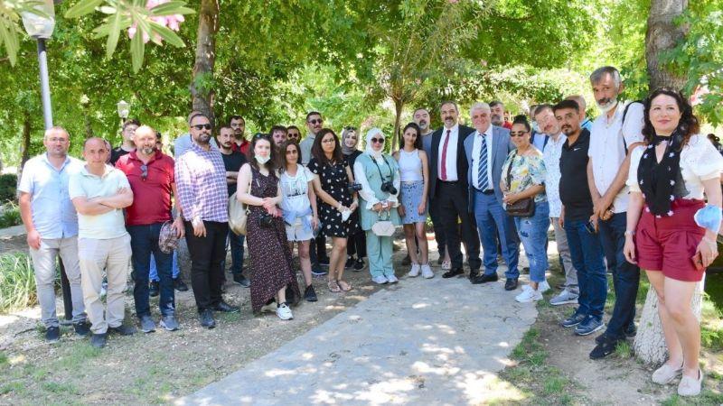 Söke Belediyesi Kültür Sanat muhabirlerini ağırladı