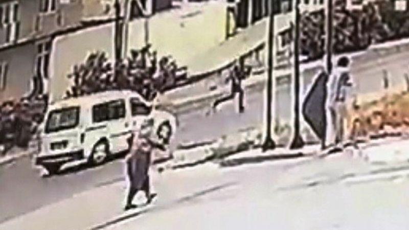 Söke'de otomobilin çarptığı yaya hayatını kaybetti: Kaza anı kamerada