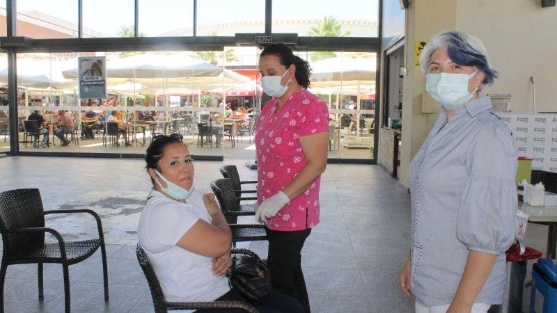 Söke'de 27 bin 981 kişinin aşısı tamamlandı