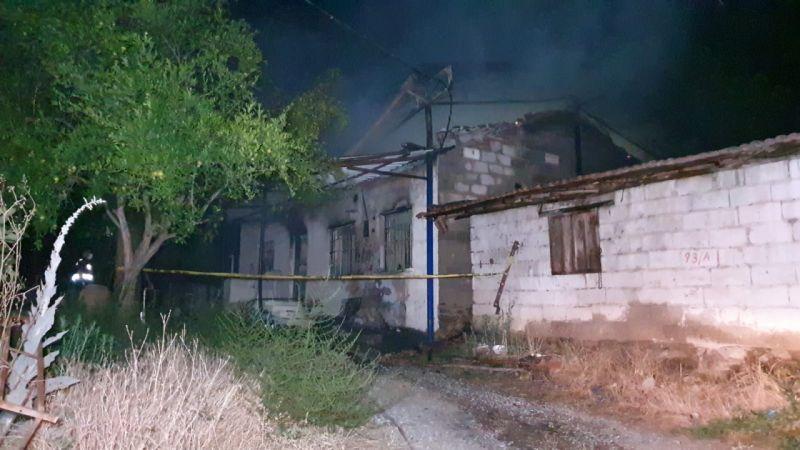 Ev yangını: 1 ölü