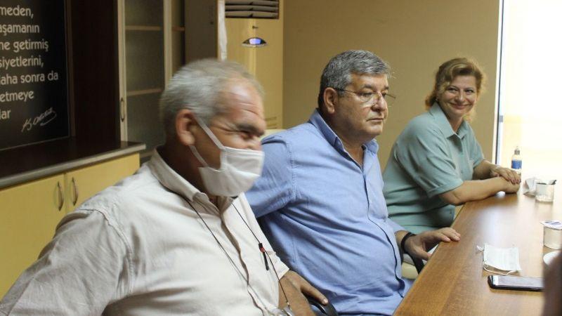 AK Parti Aydın Milletvekili Posacı Söke'de ziyaretlerde bulundu