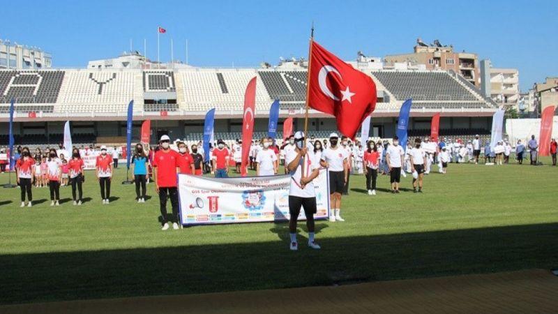 Aydın'da yaz spor okulları açılış töreni düzenlendi