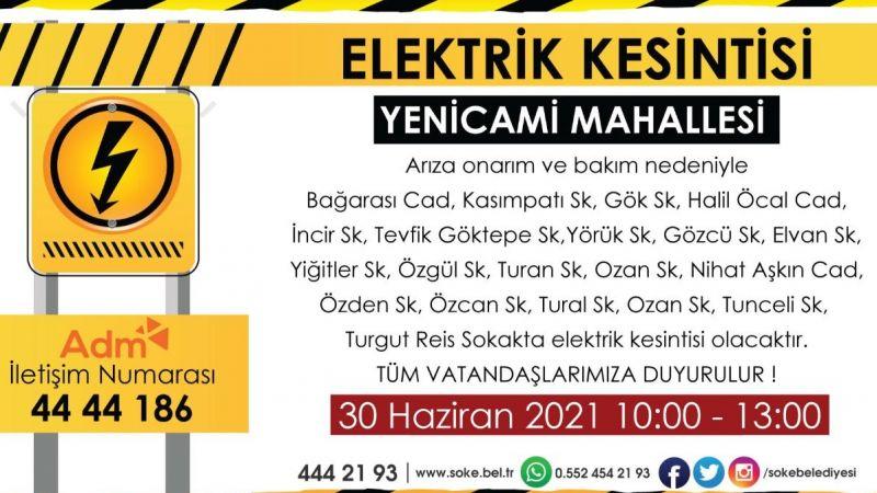 Dikkat Elektrik Kesintisi !
