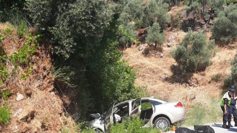Koçarlı'da feci kaza: 2 ölü