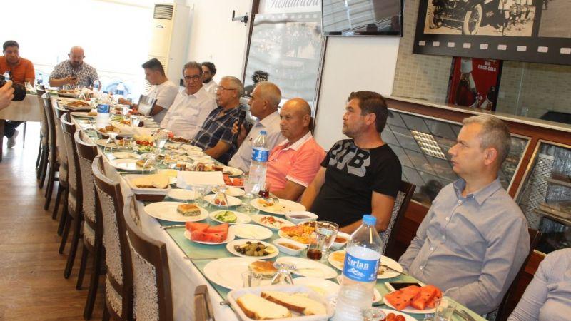 Belediye Başkanı Tuncel oda başkanları ile toplantı yaptı