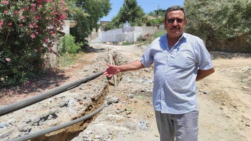 Avşar'da 45 yıllık  altyapı gün sayıyor