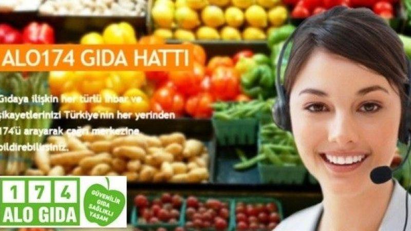 17 adet gıda işletmesine 587 bin TL cezai işlem uygulandı