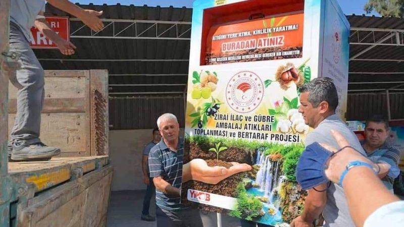 Aydın'da zirai kirliliği azaltma projesi uygulamaya girdi