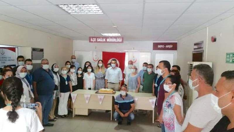 Filyasyon ekipleri başarı belgesi ile ödüllendirildi