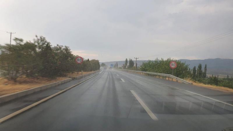 Kuyucak'ta sağanak yağış etkili oldu