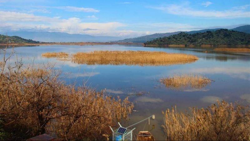 Azap Gölü'nü kuraklık etkilemedi