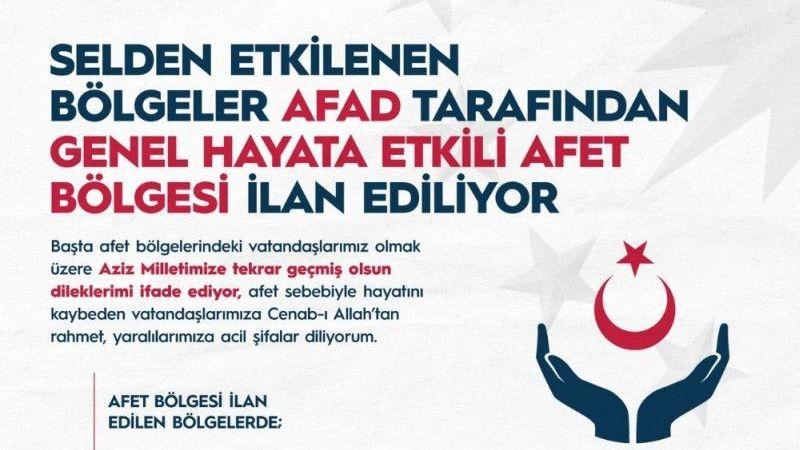 """Cumhurbaşkanı Erdoğan: """"Orman yangınlarından etkilenen bölgelerimizi """"Genel Hayata Etkili Afet Bölgesi"""" ilan ettik"""""""