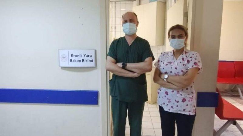 Söke Devlet Hastanesinde  kronik yara bakım polikliniği açıldı