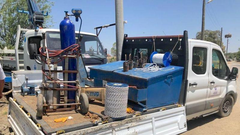 Söke'de tarımsal sulama için 40 kuyu açıldı